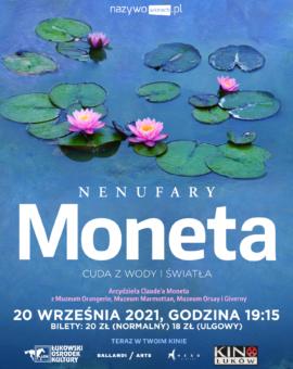 Art Beats Summer 2021: Nenufary Moneta: Cuda z wody i światła